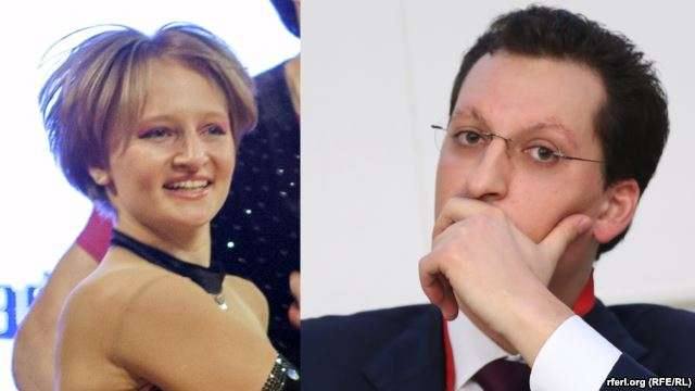 Дочь Путина и её муж Кирилл Шамалов