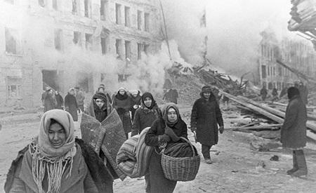 Статья об осаждённом Ленинграде в журнале The Guardian
