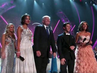 """Трамп на конкурсе """"Мисс Вселенная"""" в Москве в 2013 году"""