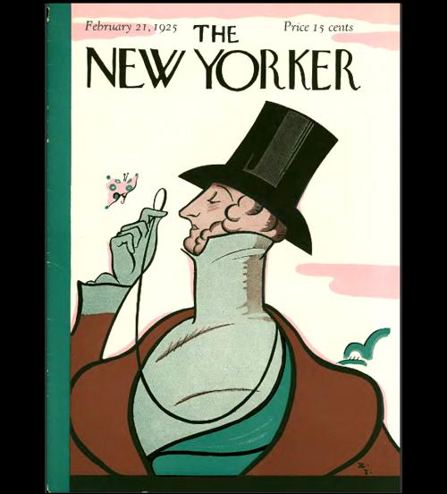 Обложка первого номера Нью-Йоркер