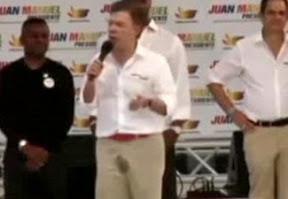 Президент Колумбии обоссался во время своего выступления – ФОТО — ВИДЕО