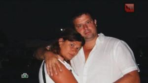 Анна Долина с супругом