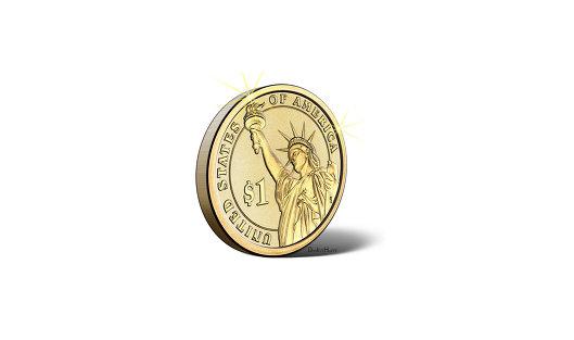 Десятидолларовая золотая монета мормонов ушла с аукциона за $ 705 тыс