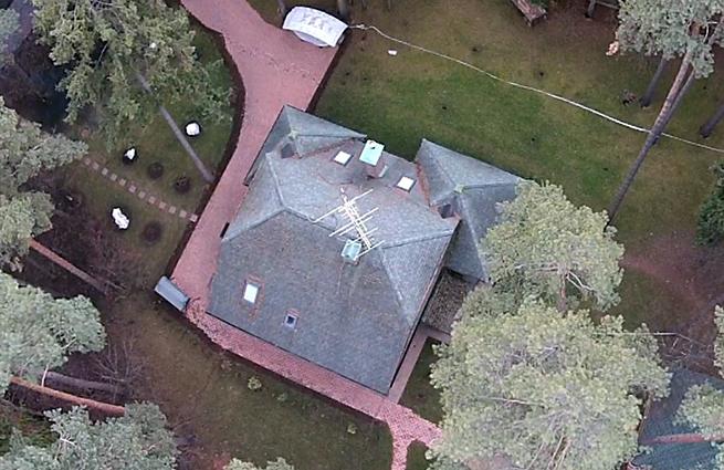 Дом в которм жили члены банды GTA