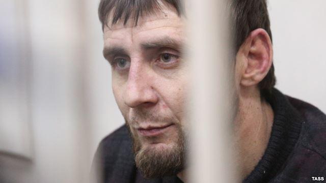 Заур Дадаев, подозреваемый в причастности к убийству Бориса Немцова