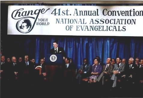 «Империя зла». Речь Рональда Рейгана 8-го марта 1983г.