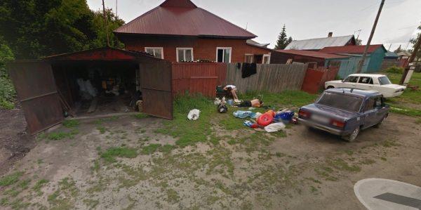 Алтайская семья попавшая на карты Google.  Координаты. Видео