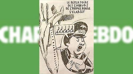 Карикатуры Шарли Эбдо на крушение самолета Ту-154 в Сочи