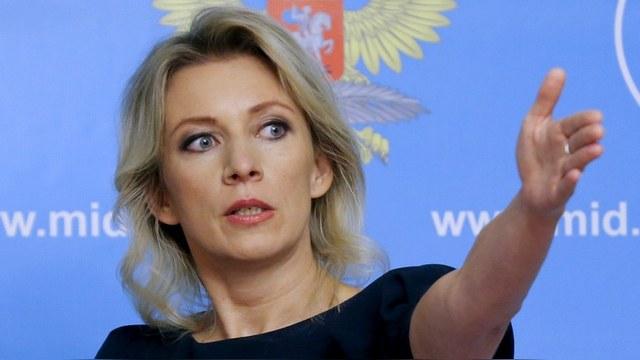 Ответ официального представителя МИД России Марии Захаровой на вопрос СМИ относительно претензий ИА REGNUM