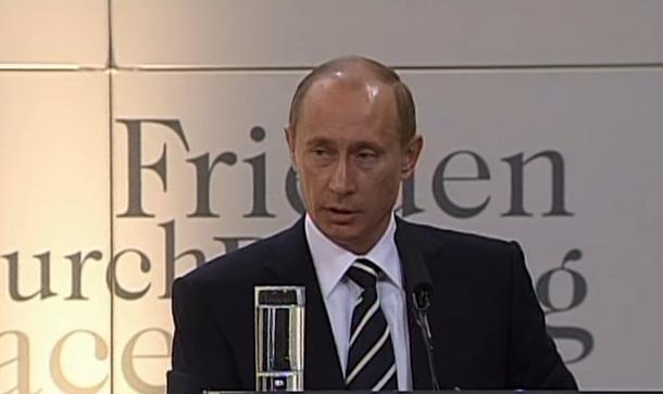 Мюнхенская речь Владимира Путина 10 февраля 2007 года. Стенограмма. Полный текст