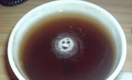 Чай с пенкой