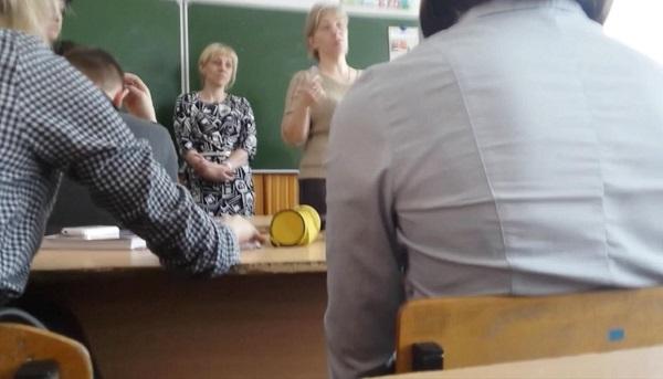 Текст записи, сделанной школьником из Брянской области во время воспитательной беседы с директором школы