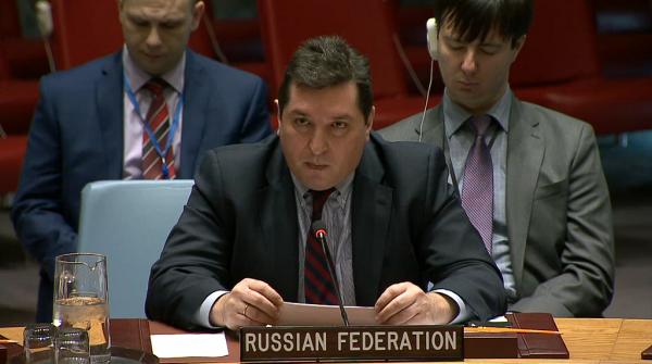 Выступление В.К.Сафронкова на заседании Совета Безопасности ООН 12 апреля 2017 г. «Не смейте, г-н Райкрофт, больше оскорблять Россию!» Полный текст