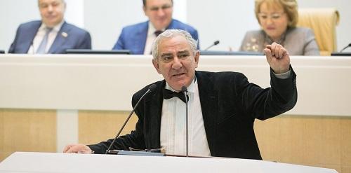 Выступление Михаила Казиника  на заседании Совета Федерации в рамках проекта «Время эксперта». Полное видео