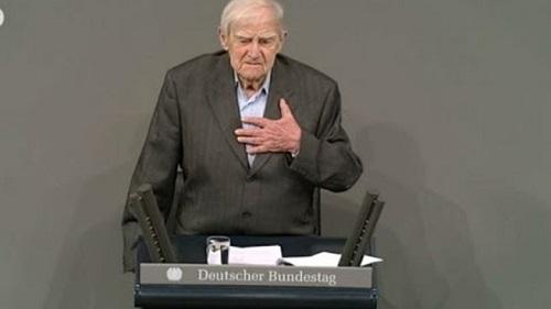 Речь Даниила Гранина в бундестаге. Полный текст. Видео