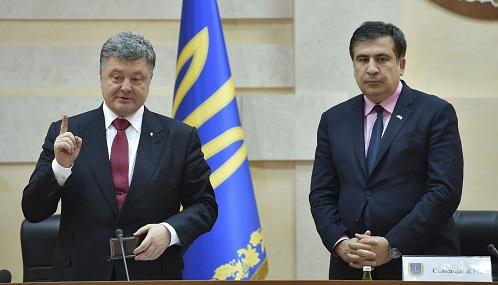 Письмо Саакашвили Порошенко. Полный текст