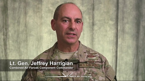 Пресс-брифинг генерал-лейтенанта Харригяна 13 февраля 2018 года. Полный текст на русском и английском