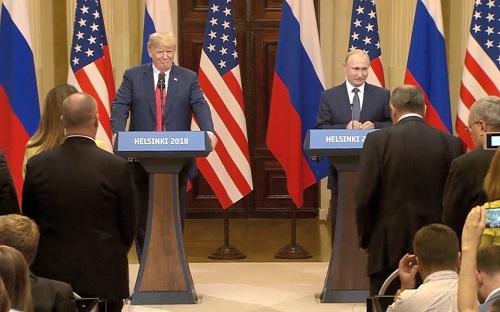 Пресс-конференция Путина и Трампа. Полный текст