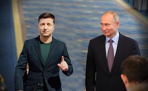 Письмо Владимира Зеленского по поводу заявлений Путина