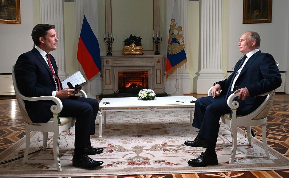 Интервью Владимира Путина американской телекомпании NBC 11 июня 2021 г. Полный текст