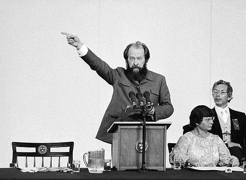 Речь Солженицына «Расколотый мир». Полный текст